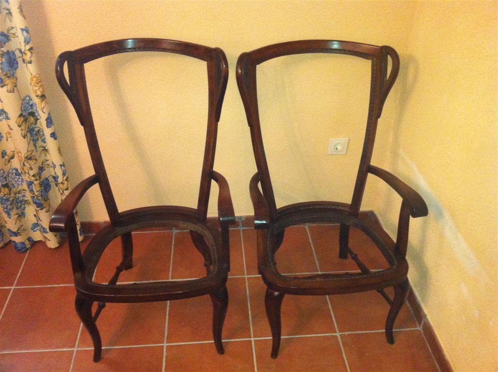 Restauraci n y compra venta de mueble cl sico sillones - Sillones orejeros precios ...