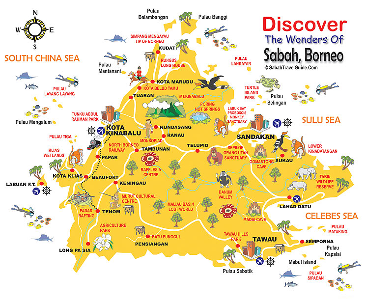 essay about interesting places in sabah