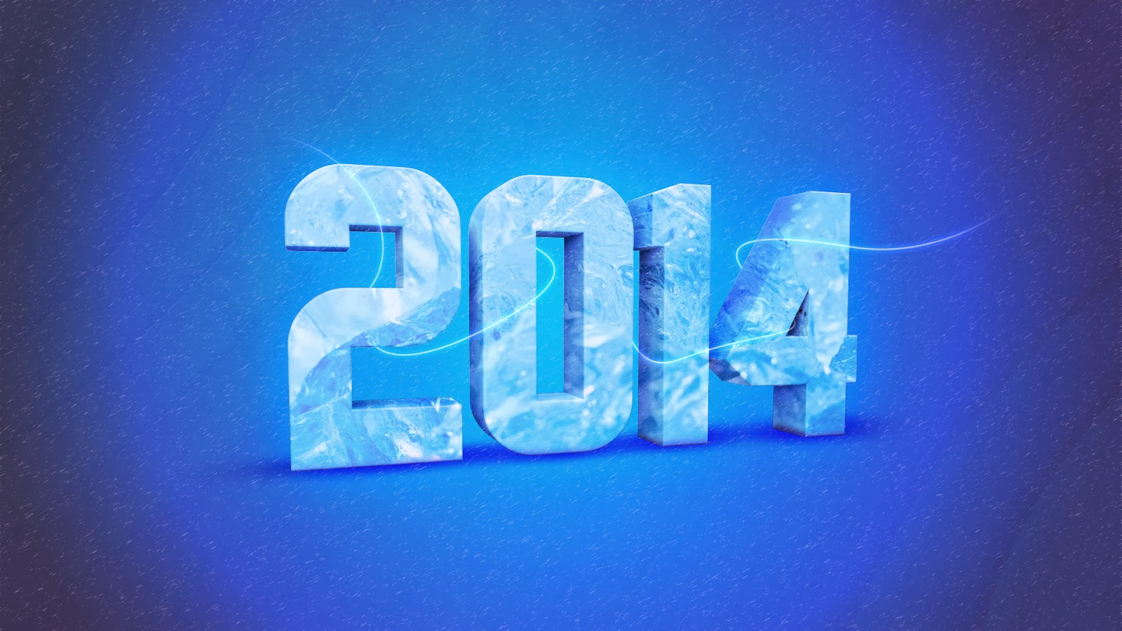 3d 2014 Year HD Wallpaper
