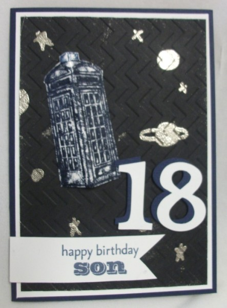 Julias cards happy 18th birthday son xx happy 18th birthday son xx bookmarktalkfo Choice Image