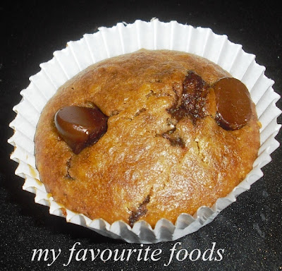 chocolate-chips-oatmeal-muffins
