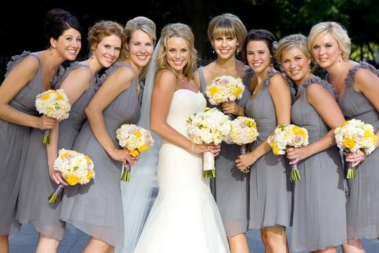 Stunning Yellow And Gray Wedding Ideas Photos - Styles & Ideas ...