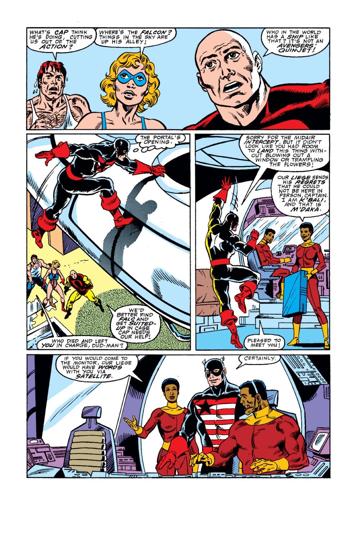 Captain America (1968) Issue #342 #272 - English 6