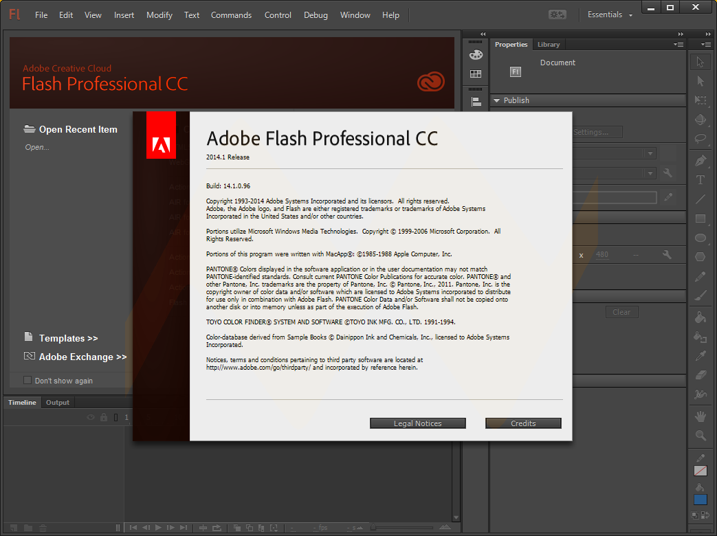 Adobe Flash Professional CC 2014.1 Full Version