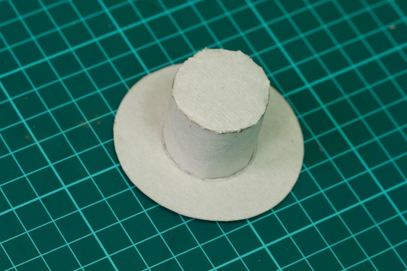 Как Сделать Шляпу Цилиндр Из Картона 50