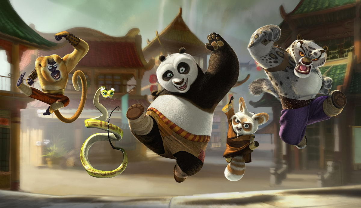 Kung Fu Panda 2 Theme [Windows 7]