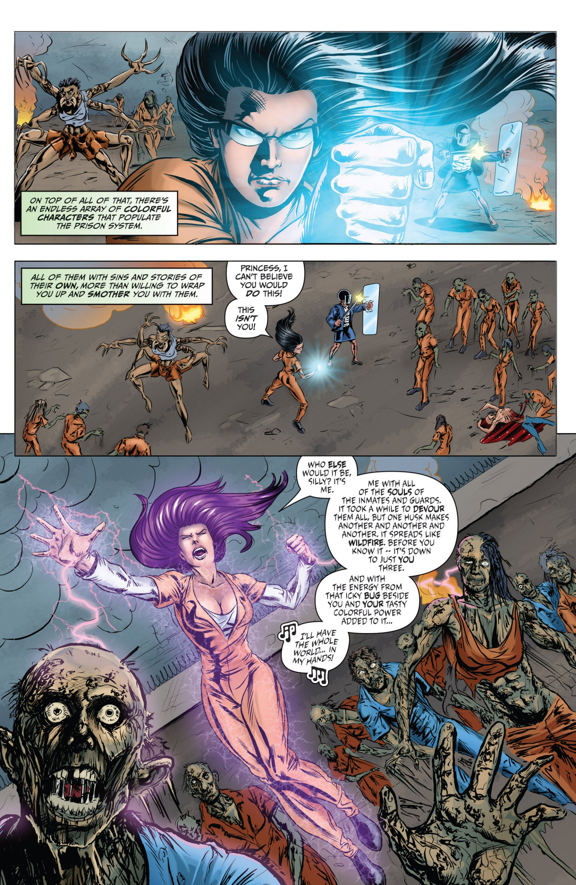 Grimm Fairy Tales (2005) Issue #81 #84 - English 5