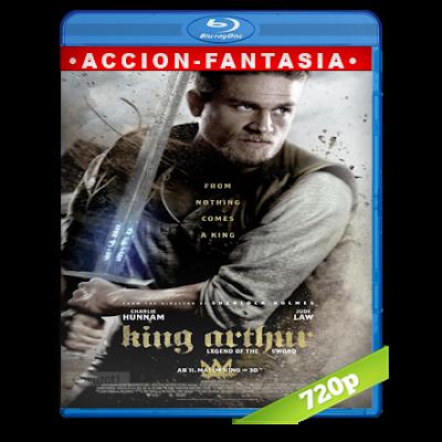 El Rey Arturo La Leyenda De La Espada (2017) BRRip 720p Audio Trial Latino-Castellano-Ingles 5.1