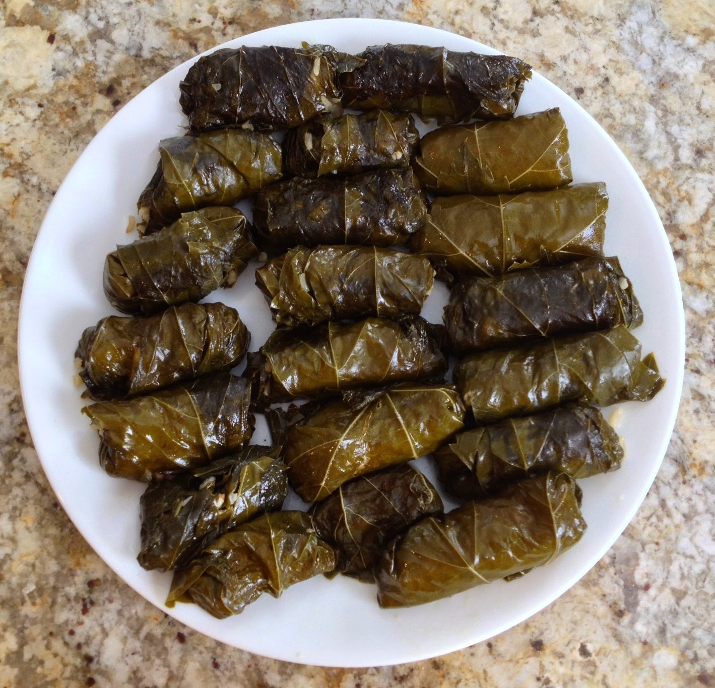 Grape leaves stuffed with brown rice: A healthy choice you can enjoy ...