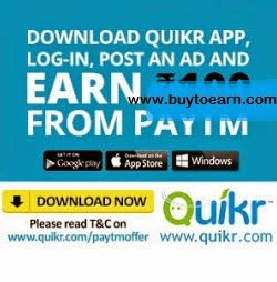 Paytm : PayTm Mobile Recharge And get At Rs.50 cashback on Rs.100 – BuyToEarn