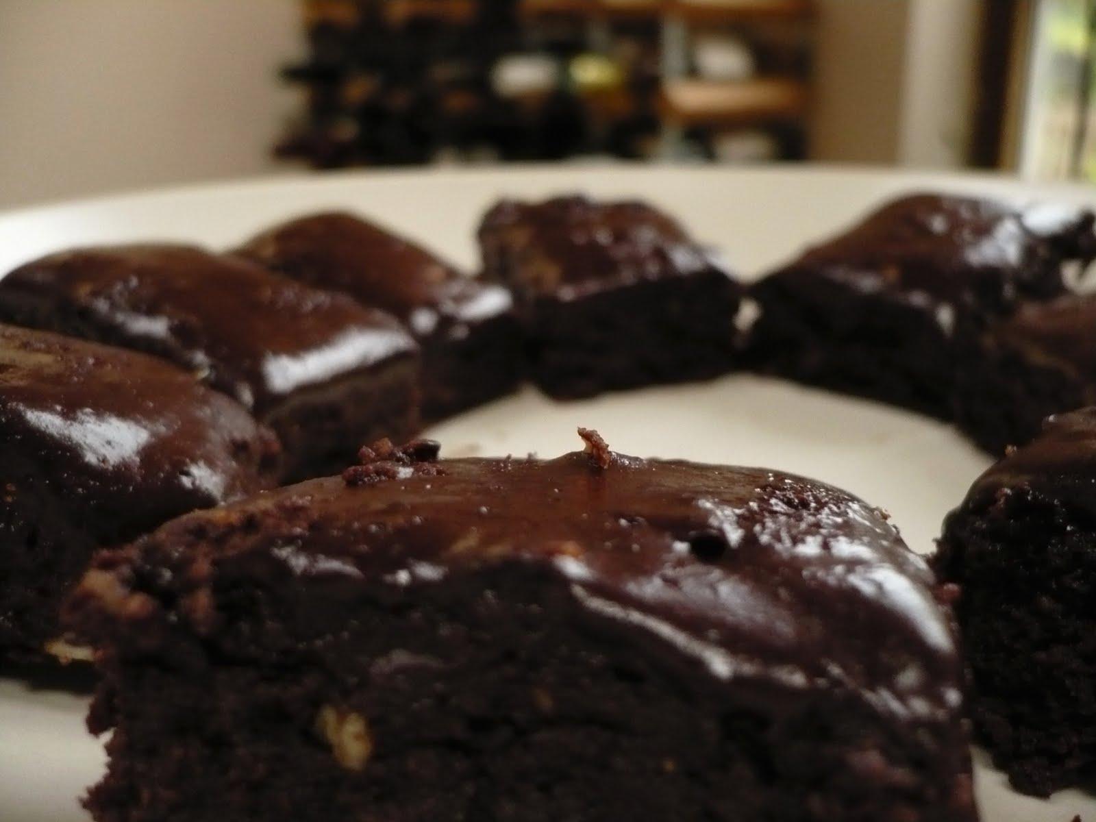 Cath's raw brownies