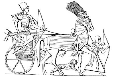 An Egyptian Chariot by Joseph Bonomi