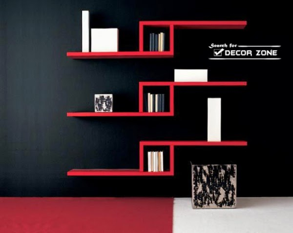 Decorative Wall Shelves In Modern Interior