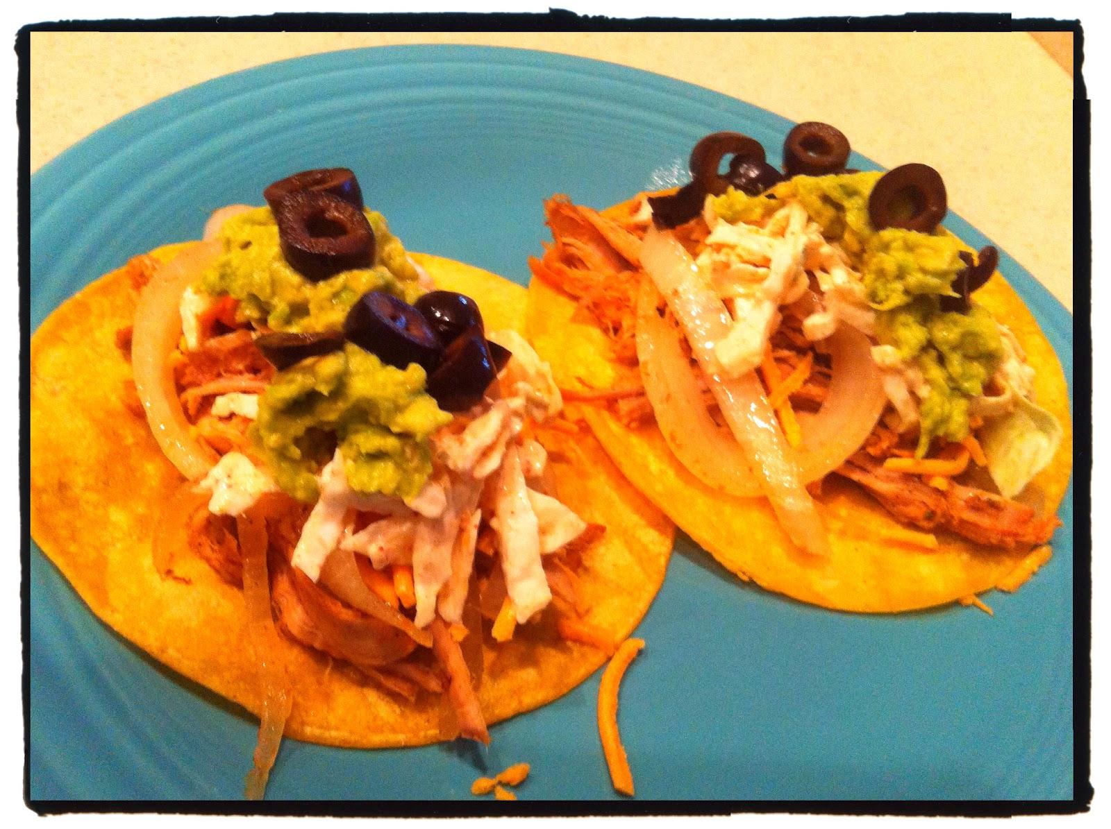 Carnitas Tacos with Spicy Slaw