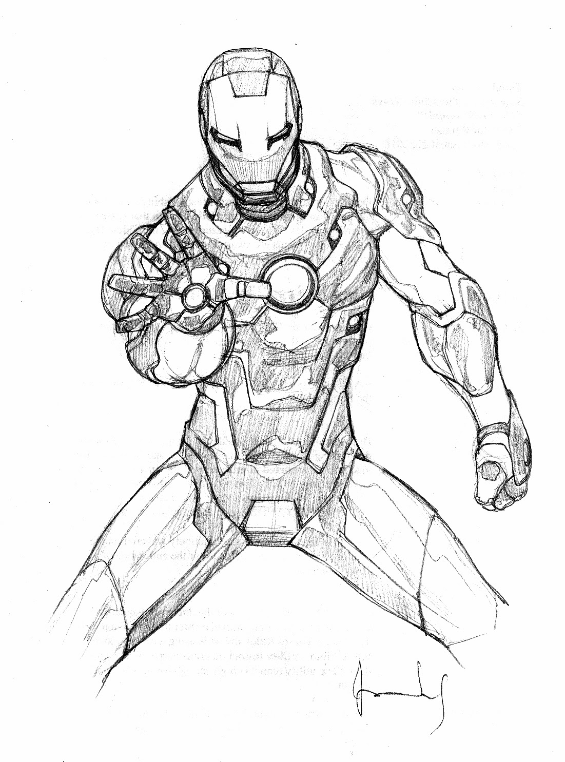 Iron man disegni da colorare for Iron man da colorare
