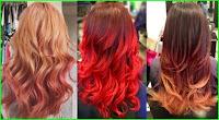 Frisuren für dunkles rot