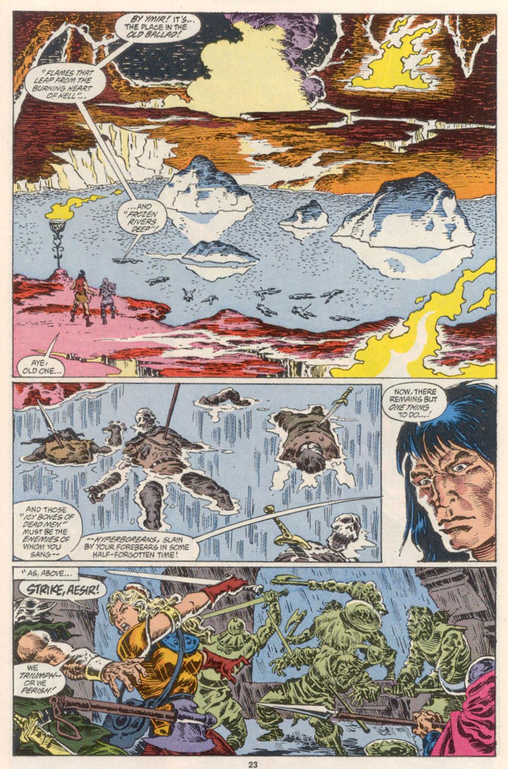 Conan the Barbarian (1970) Issue #254 #266 - English 18