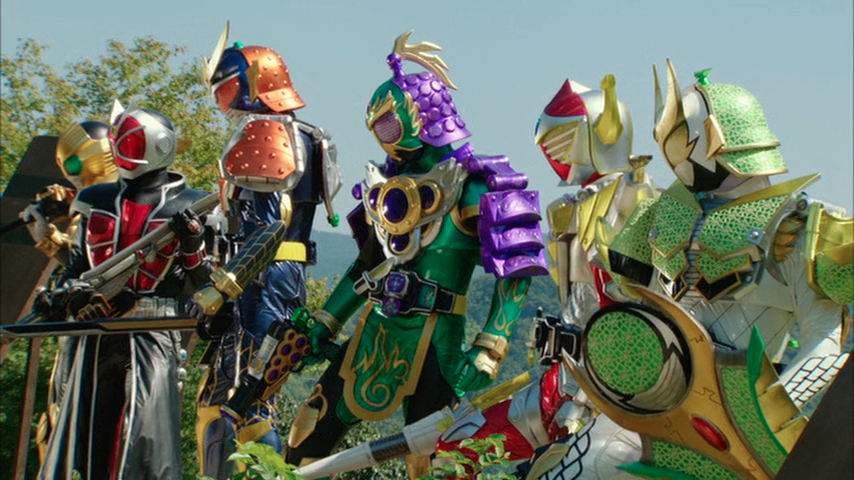 Kamen Rider x Kamen Rider Gaim & Wizard: The Fated Sengoku Movie Battle