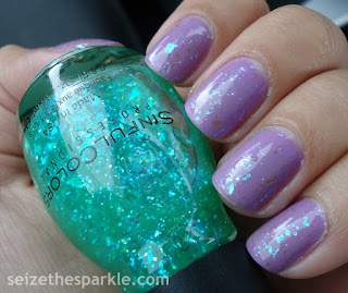 SinfulColors Green Ocean & Tempest