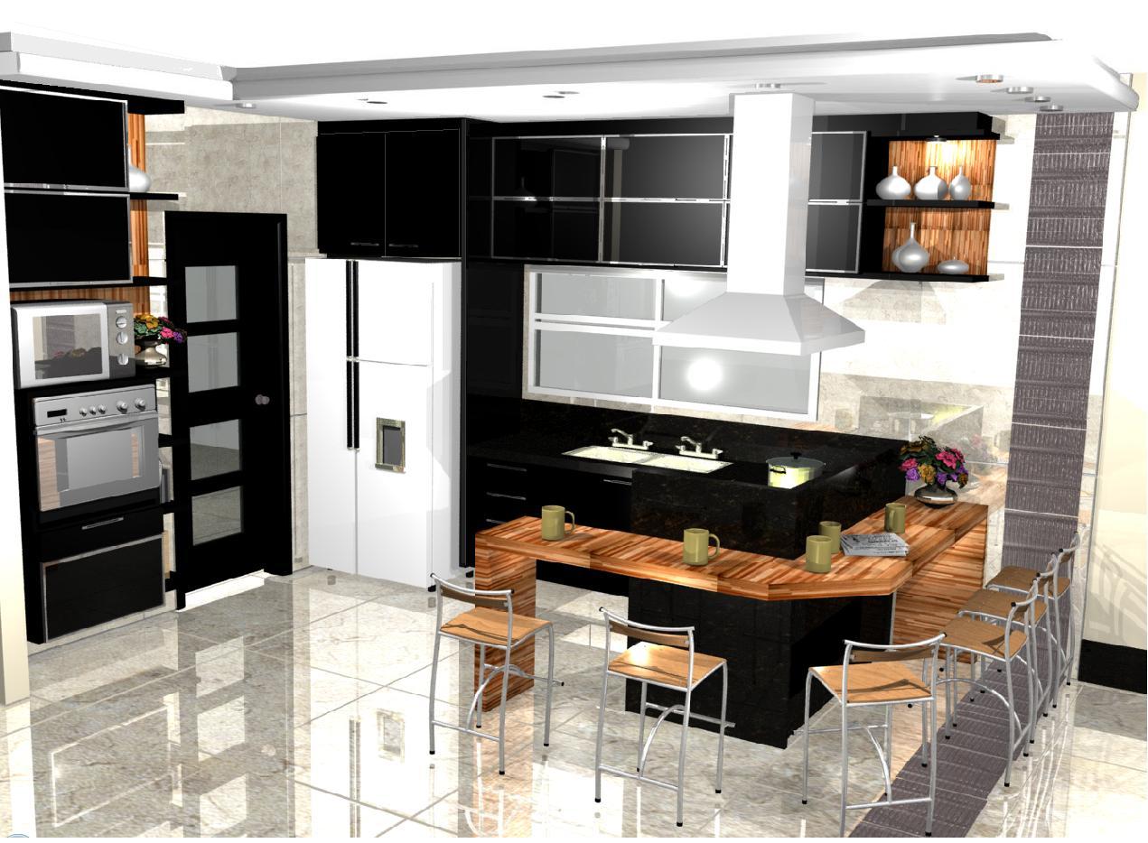 #975E34 cozinha cozinhas cuzina kitchen 1271x934 px Ferramenta De Design De Cozinha On Line_794 Imagens