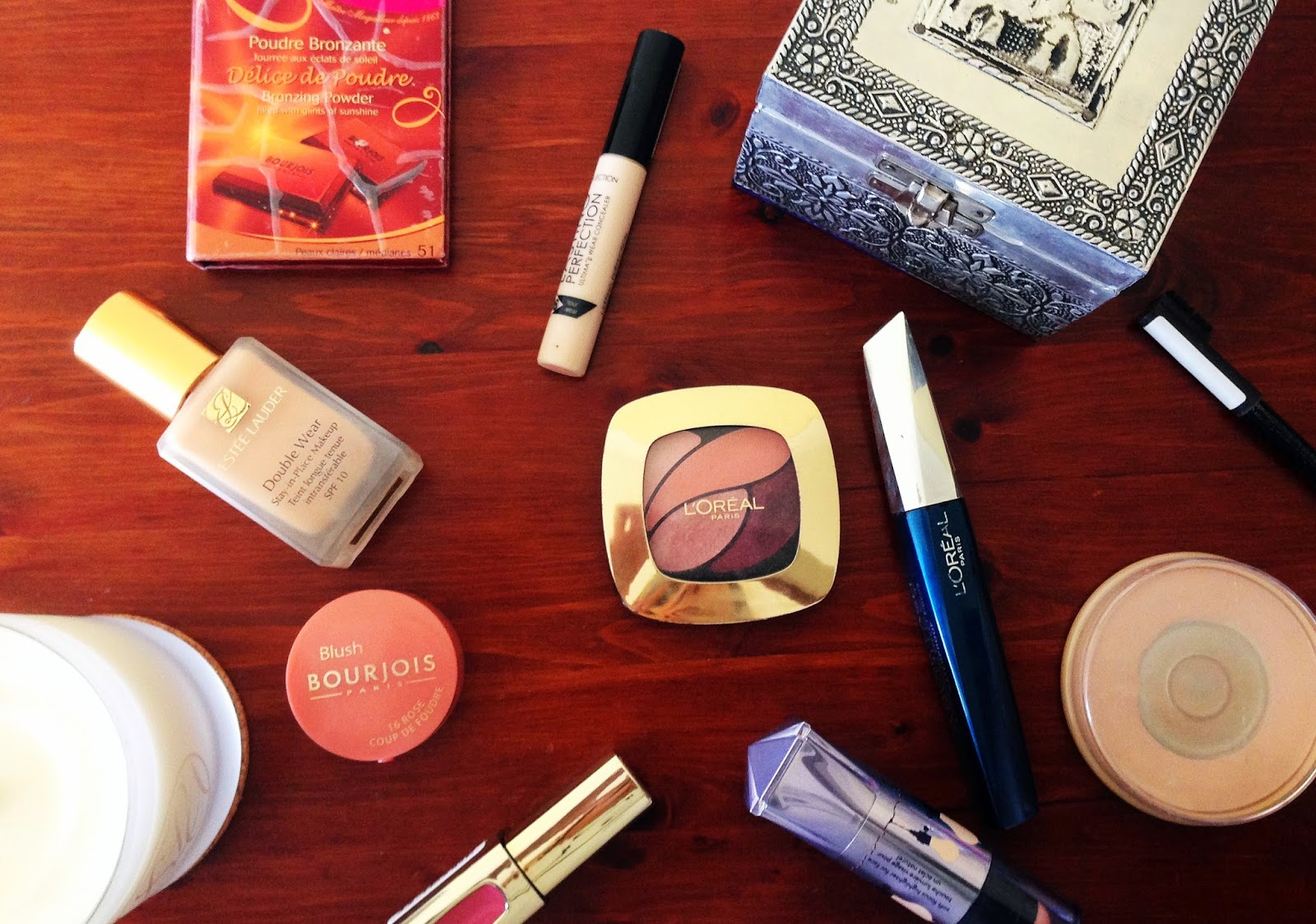 Makeup look featuring L'Oreal Eau de Rose