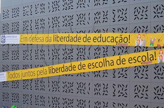 EM DEFESA DA LIBERDADE DE EDUCAÇÃO - TODOS JUNTOS PELA LIBERDADE DE ESCOLHA DE ESCOLA