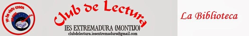 Biblioteca y Club de Lectura del IES Extremadura (Montijo)