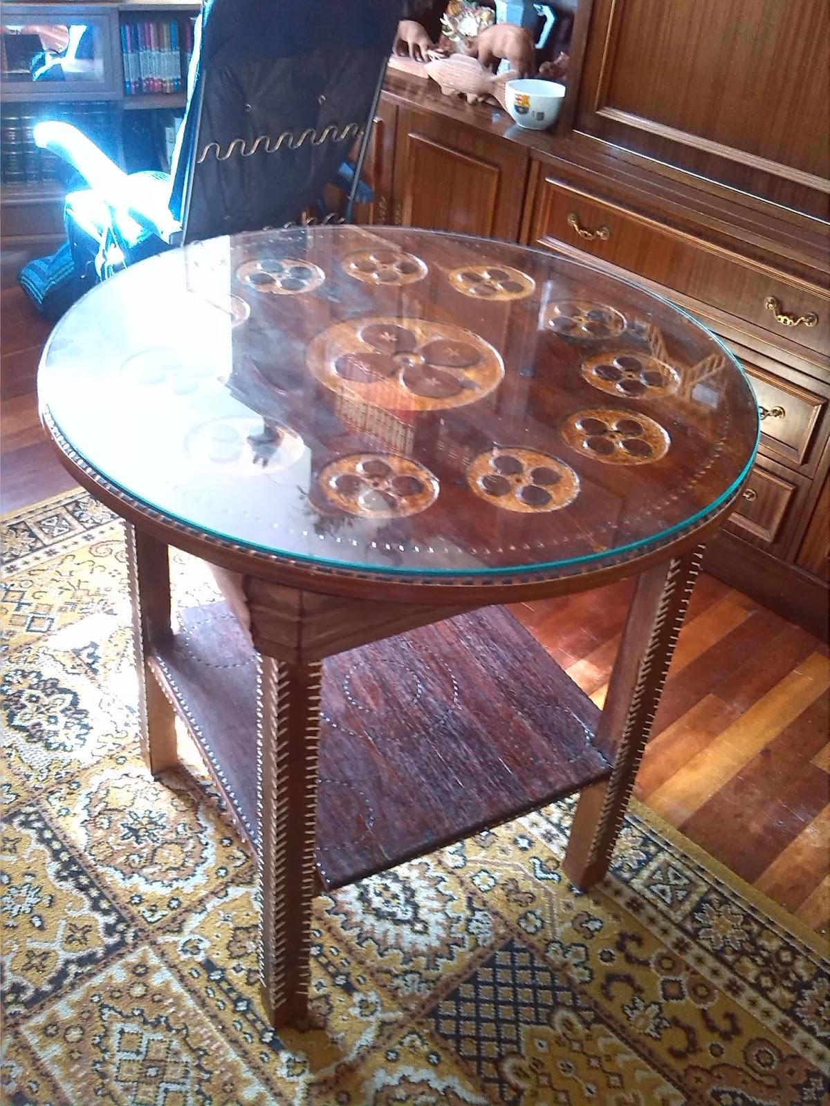 Mis cosas hechas a mano - Mesas de madera hechas a mano ...