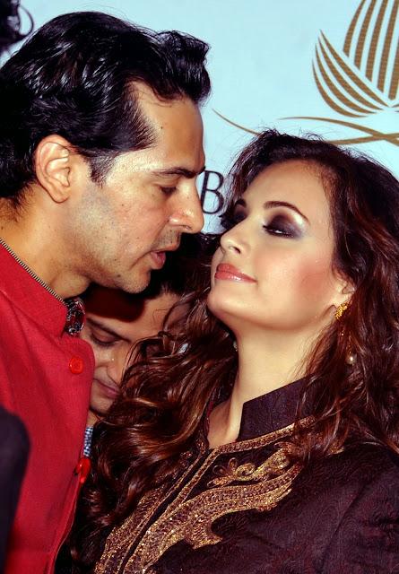 Mumbai, Bollywood, Dino Morea, Diya Mirza, Fashion, Show, Aamby, Valley, India, Bridal, Fashion Week, Actor, Actress,