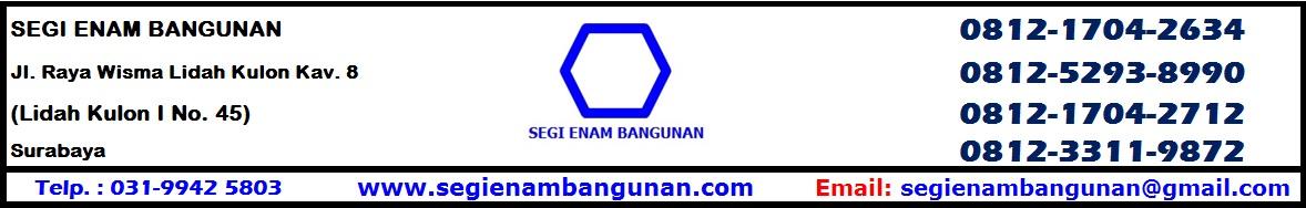 #SEGI ENAM BANGUNAN