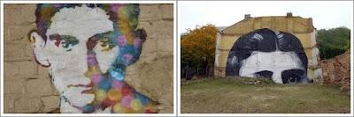 Dos graffitis de Franz Kafka