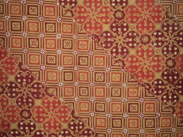 Batik Jlamprang, Batik Pekalongan pengaruh India & Arab