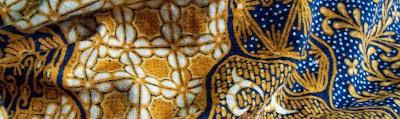 Reactive Batik Textile Color silk organza