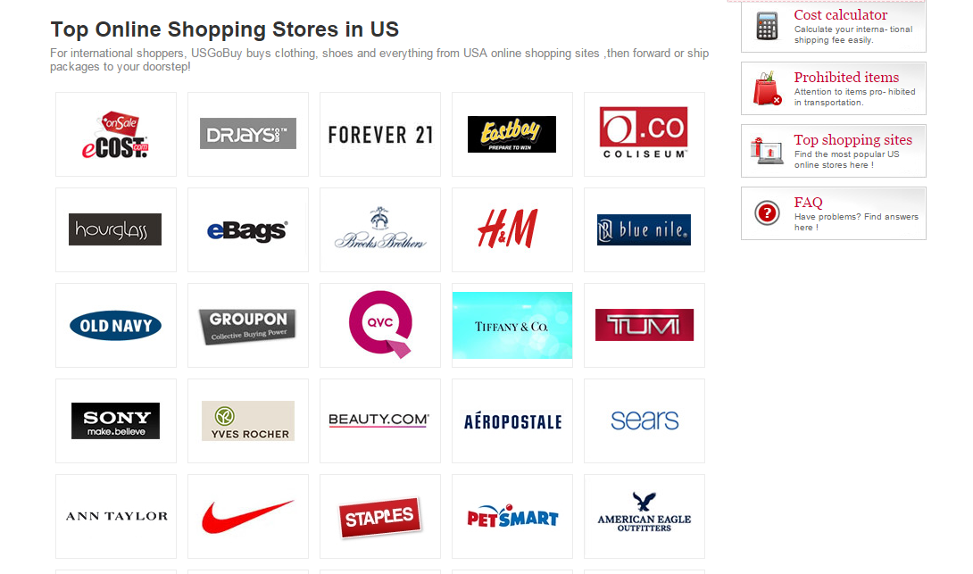 Best USA Online Shopping Sites