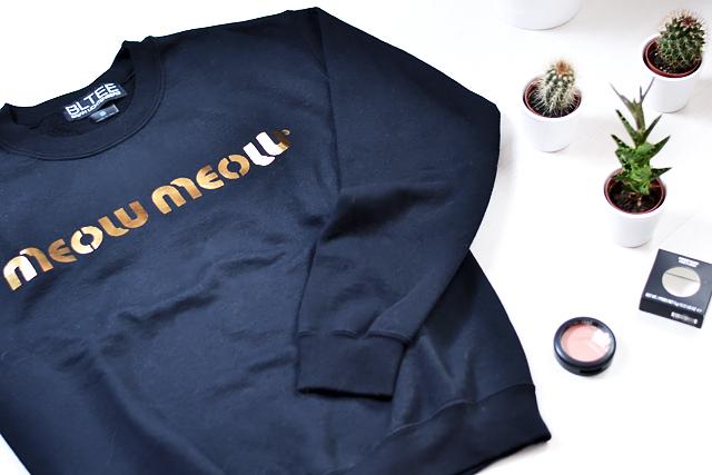 Brian lichtenberg, sweatshirt, the outnet, meow meow, mac blush, melba