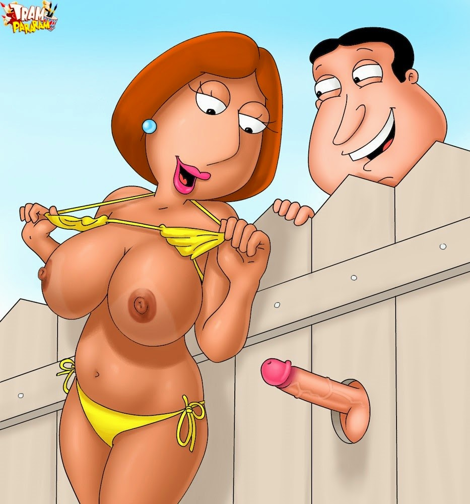 porn cartoon: horny slut lois griffin