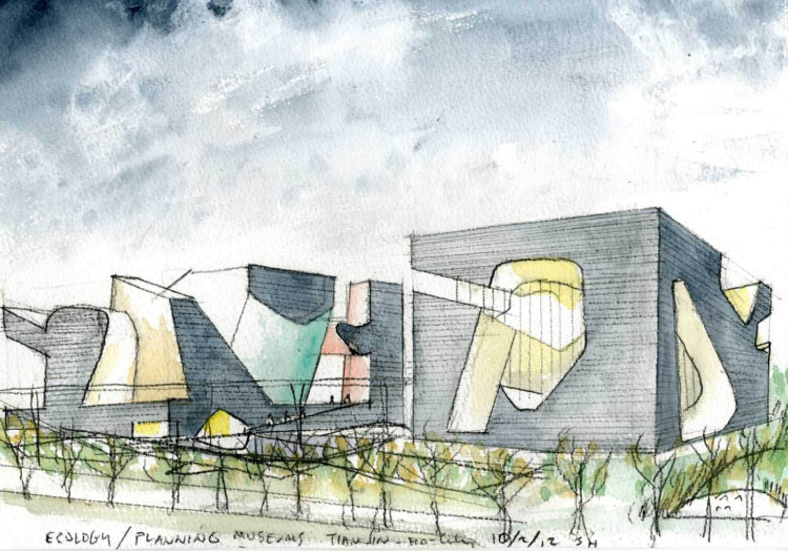 ECOLOGY MUSEUM AND PLANNING MUSEUM BY STEVEN HOLL ...