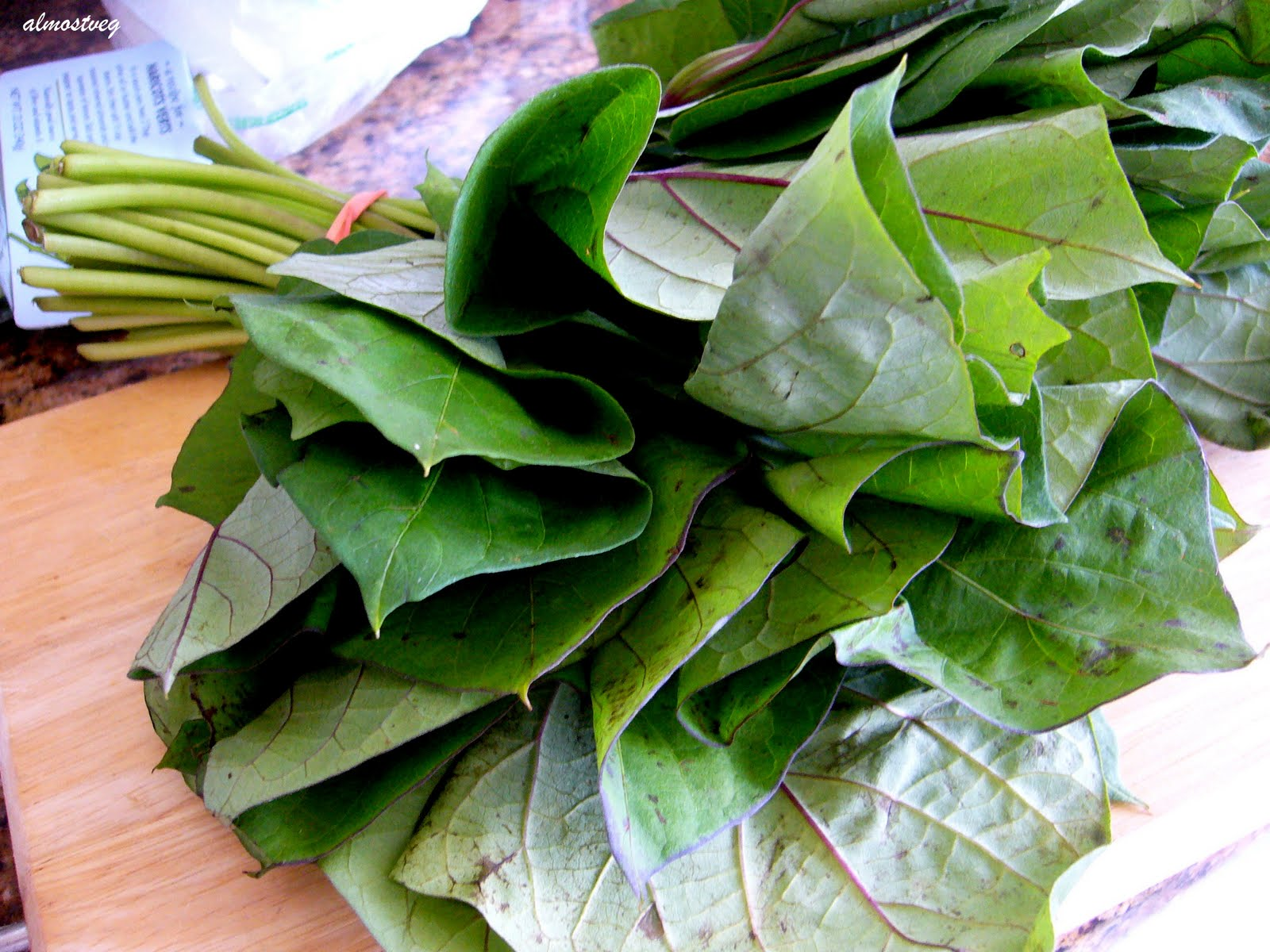 Belacan Yam Leaf (Sweet Potato Leaf) Recipe — Dishmaps