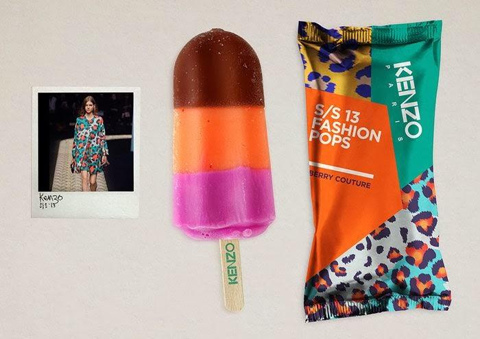 Fashion popsicle Kenzo Atikson