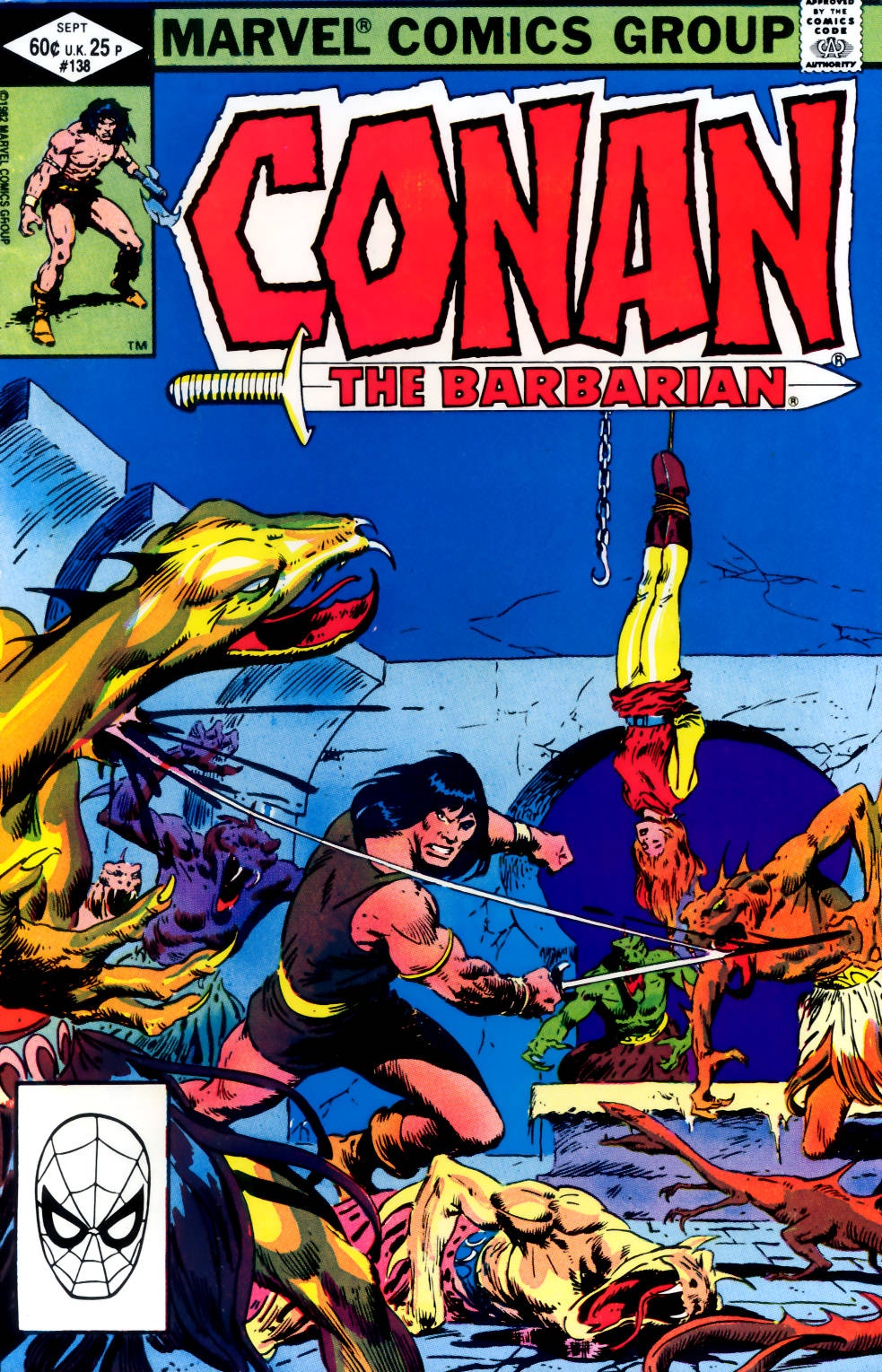 Conan the Barbarian (1970) Issue #138 #150 - English 1