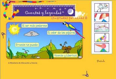 CUENTOS Y LEYENDAS ILUSTRADOS POR NIÑOS Y NIÑAS