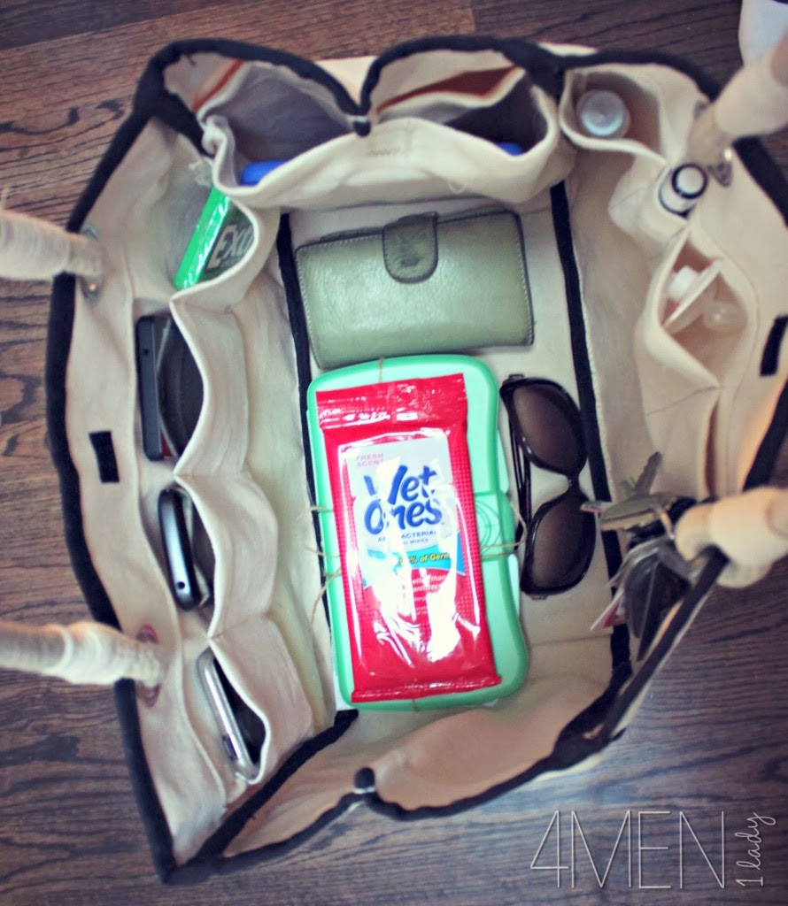 MAKING ORGANIZING POCKETS FOR YOUR BAG