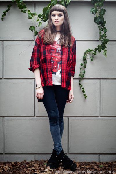 Moda invierno 2014 Vov Jeans invierno 2014.