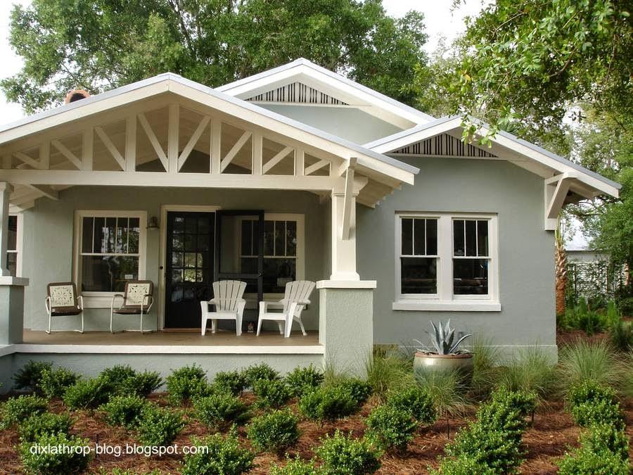 Un modelo de bungalow americano
