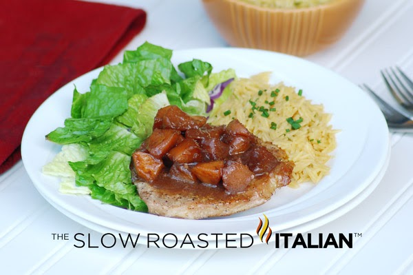 Slow Roasted Italian - Printable Recipes: Garlic Pork Chops with Spicy ...