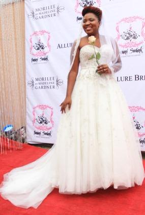 Superb Wedding Dresses 0 Unique PHOTOS Nigerian Celebrities Posing