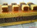 Kek Lapis Coklat Lembap