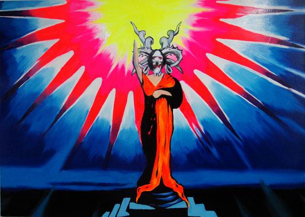 babilonska prostytutka z aureola swietosci