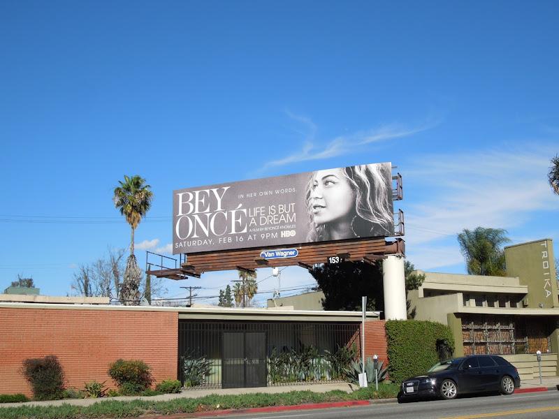 Beyoncé Life Dream billboard