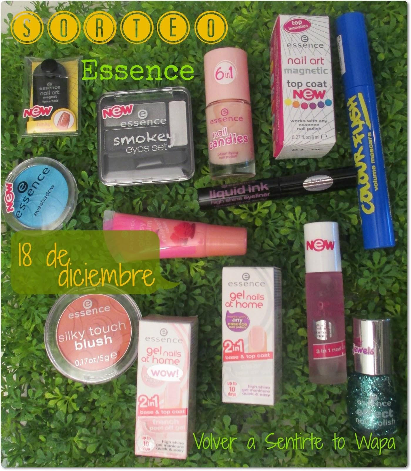 SORTEO 'Hazte con 13 productos de Essence' - Volver a Sentirte to Wapa